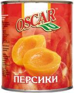 Персики OSCAR foods половинками в легкому сиропі 850 мл
