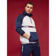 Анорак Tommy Hilfiger WOVEN JACKET WITH TAPE S20S200234100 р.M белый