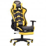 Кресло AMF Art Metal Furniture VR Racer Dexter Megatron черный/желтый