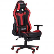 Кресло AMF Art Metal Furniture VR Racer Dexter Grindo черный/красный