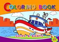 Раскраска «Ships» 4402647021091