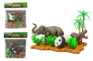Набор игрушек Животные JFL-2563D 2 вида в ассортименте