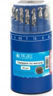 Набор сверл по металлу ЗІЗ ЗЗС-ДСС 1-10 мм 19 шт. 3149201-1