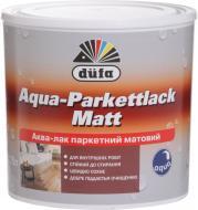 Лак паркетний Aqua-Parkettlack Dufa напівмат прозорий 0,75 л
