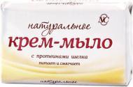 Крем-мило Невская Косметика Натуральне з протеїнами шовку 90 г 1 шт./уп.
