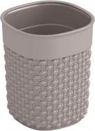 Органайзер настільний KIS 249172 Filo 0,6 л сіро-коричневий 110x90x90 мм