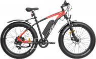 Електровелосипед LIKE.BIKE Bruiser (red/grey)