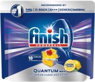 Таблетки для ПММ Finish QUANTUM max lemon 10 шт.