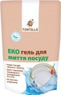Миючий засіб для ручного миття посуду TORTILLA Еко гель 0,5л
