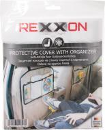 Накидка на сидіння з кишенями Rexxon прозорий