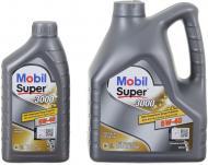 Моторне мастило Mobil Super 3000 4 л + 1 л 5W-40 5л