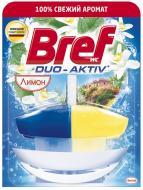Блок з очисним засобом для туалету Bref Duo-Aktiv Лимон з кошиком 0.05 л