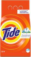 Пральний порошок для ручного прання Tide Альпійська свіжість 1,8 кг