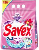 Пральний порошок для машинного прання Savex PowerZyme 2in1 Color 4 кг