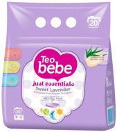 Пральний порошок для машинного та ручного прання Teo bebe Sweet Lavender & Natural soap 2,4 кг