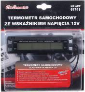 Термометр автомобільний з годинником 61741