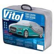 Тент автомобільний з підкладкою PEVA+PP Cotton Vitol CC13401-L