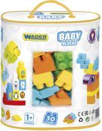 Конструктор Wader Baby Blocks Мои первые кубики 41400