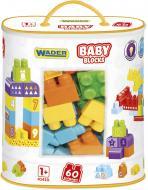 Конструктор Wader Baby Blocks Мои первые кубики 41410