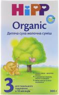 Сухая молочная смесь Hipp Organic 3 для дальнейшего кормления 300 г 9062300122951