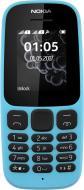 Мобільний телефон Nokia 105 DS New blue