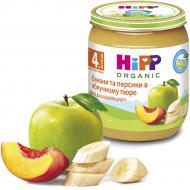 Пюре Hipp Бананы и персики в яблочном пюре 125 г 9062300101512