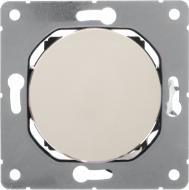 Перемикач прохідний одноклавішний HausMark Bela без підсвітки 10 А 220В кремовий SNG-SWP.RD20MG1W2-CR