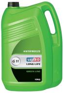 Антифриз Luxe Long Life G11 -40°C 10л зелений