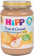 Пюре Hipp Фрукти та зерно груша з зерновими пластівцями 190 г 9062300121206