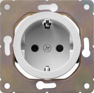 Розетка с заземлением HausMark Bela белый SNG-SCP.RD20MG1WG-WH