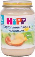 Пюре Hipp Кролик в картопляному пюре 190 г 9062300106944