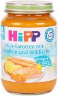 Пюре Hipp Лосось в морквяно-картопляному пюре 220 г 4062300015920