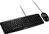Комплект клавіатура та миша Canyon (CNE-CSET1-RU) black