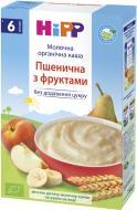 Каша молочна Hipp від 6 місяців пшенична з фруктами 250 г