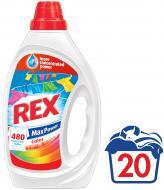 Рідкий засібгель для машинного та ручного прання REX Color 1 л