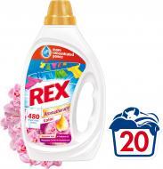Гель для машинного та ручного прання REX Color Ароматерапія з ефірними оліями та ароматом малазійської орхідеї і сандалу 1 л{/