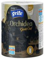 Паперові рушники Grite Orchidea Gold Chef тришаровий 1 шт.