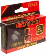 Скоби для ручного степлера Vectron 8 мм тип 53 (А) 1000 шт. 38-1-108