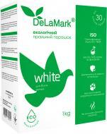 Стиральный порошок для машинной и ручной стирки DeLaMark ECO White 1 кг