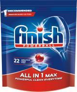 Таблетки для ПММ Finish All in 1 Max 22 шт.
