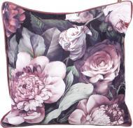 Подушка декоративная Велюр Melina 50x50 см розовый с принтом La Nuit