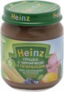 Пюре Heinz Груша з чорницею і печивом 120 г 8001040096918