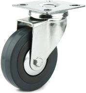 Колесо поворотне з площадкою d75 мм