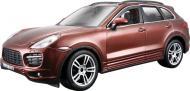Автоконструктор Bburago 1:24 Porsche Cayenne Turbo коричневий металік 18-25104