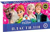 Пластилін Frozen 6 кольорів Міцар+