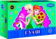 Фарби гуашеві Frozen 6 кольорів Міцар+