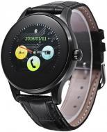 Смарт-часы UWatch K88H Black Leather Strap (59768)
