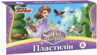 Пластилін Принцеса Софія 6 кольорів Міцар+