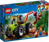 Конструктор LEGO City Лісоповальний трактор 60181