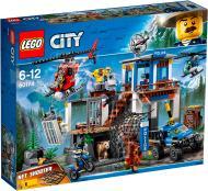 Конструктор LEGO City Штаб-квартира гірської поліції 60174